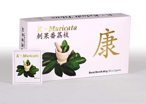 obat herbal diabetes melitus K-Muricata