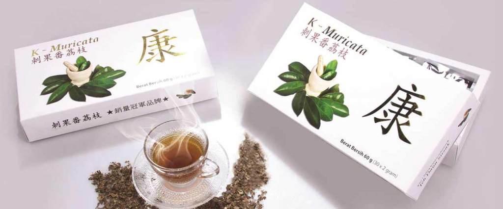 obat herbal radang paru paru basah k muricata