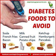 makanan yang harus dihindari penderita diabetes melitus